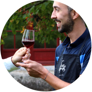 Baptiste, fondateur de Vins & Copains